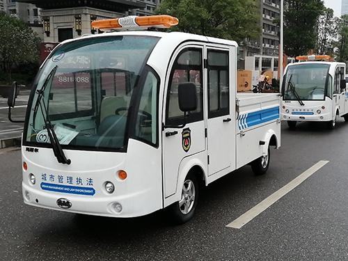 湖南岳麓区电动城市管理执法巡逻车