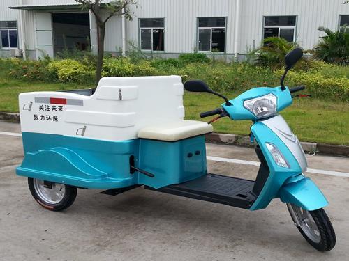 电动垃圾分类三轮挂桶车DHWQY-8