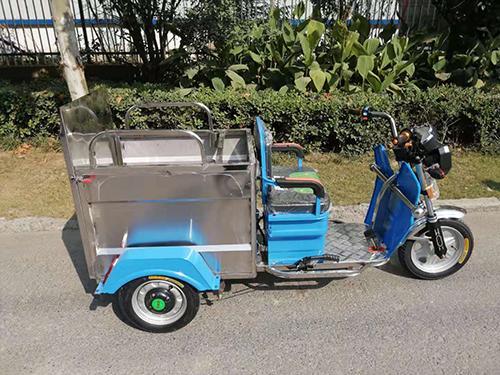 电动三轮挂桶车(双桶)